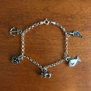 Jewelry - FALL SALE! 🍂 Sterling Silver Charm Bracelet